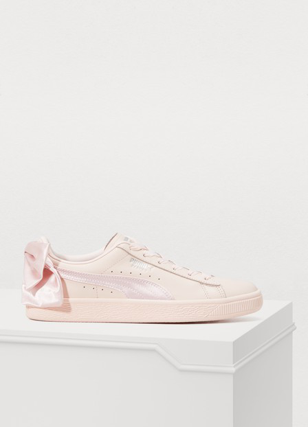 new concept d8b3e 02bc4 Bow Sneakers in Pink