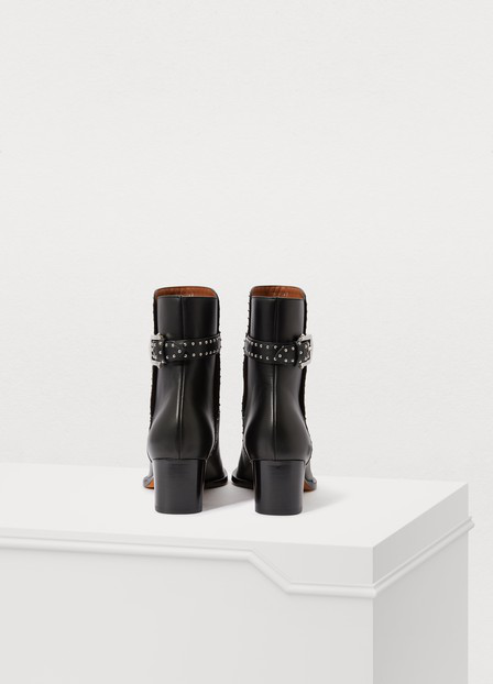Givenchy Ankle Boots Black Elegant Ankle Boot