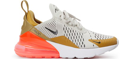 Women's Air Max 270 Casual Shoes, Brown in Multicolor