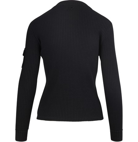 COURRÈGES PATCH POCKET TOP,119JS22J010 999