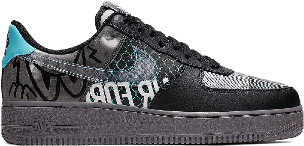nike air force 1 low noire