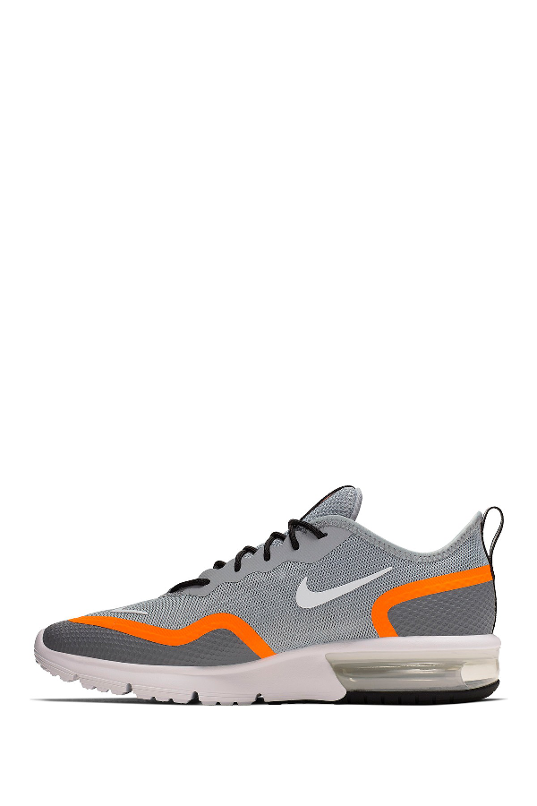 Air Max Sequent 4.5 Running Sneaker in Grey