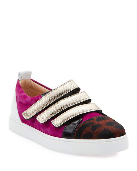 detailing 55531 ab6f4 Kiddo Donna Red Sole Sneakers in Magenta