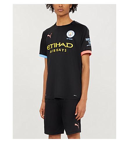new styles e1458 6aa15 Manchester City Away Jersey Football Shirt in Black