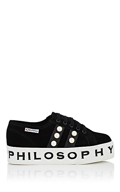 sito affidabile 18c17 8ef39 Women's Shoes Suede Trainers Sneakers Superga in Black