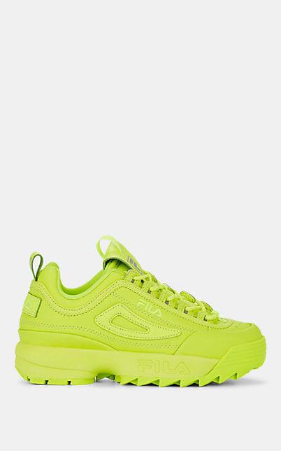 butik wyprzedażowy nowe obrazy wiele modnych Women's Disruptor 2 Premium Low-Top Sneakers in Yellow