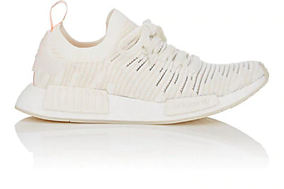 the latest b13e8 d587f Women's Nmd R1 Stlt Primeknit Casual Shoes, White in Cream