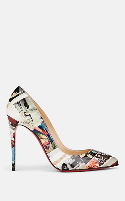 the best attitude f84df 4fcc3 Pigalle Follies 100 Printed Patent Leather Pumps in Multi
