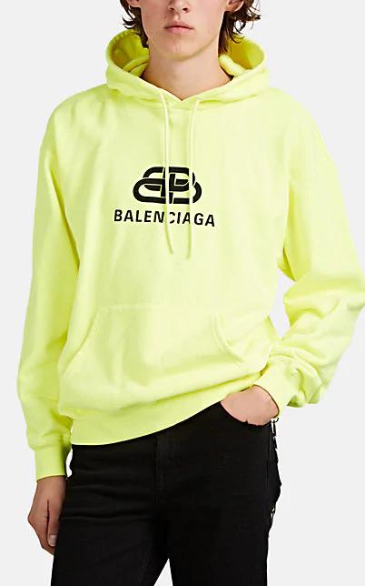 BALENCIAGA BB-LOGO COTTON OVER,00505063453089