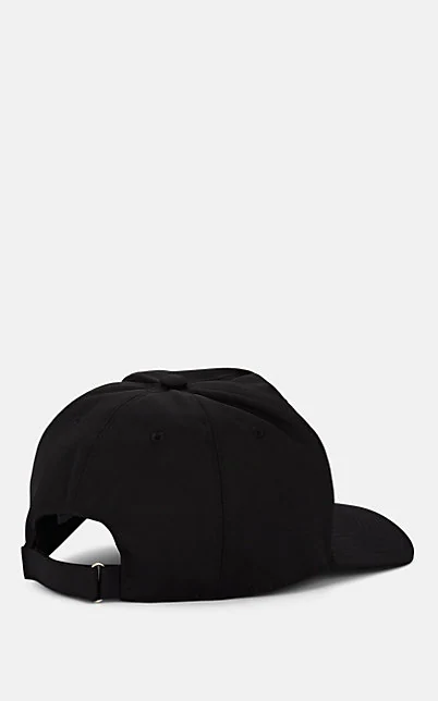 GIVENCHY EMBROIDERED LOGO BASEBALL CAP - BLACK,00505062940757