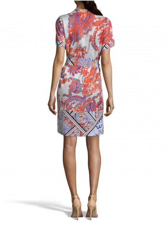 ROBERT GRAHAM WOMEN'S CAITLIN PAISLEY MIXED FLORAL DRESS SIZE: XL BY ROBERT GRAHAM