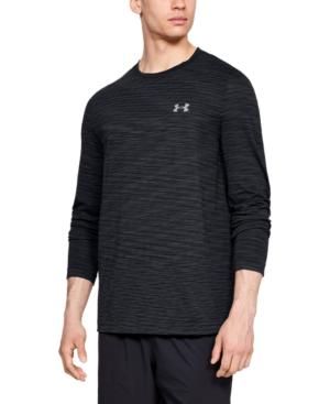 códigos de cupón marcas reconocidas sobornar auténtico Under Armour Siphon Long Sleeve Performance T-shirt In Black ...