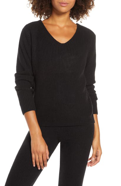 Ballet Sweater In Black