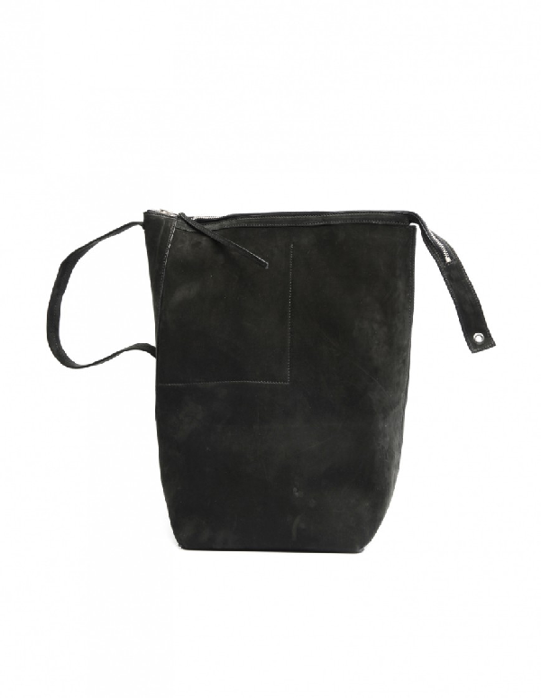 Leather Bag In Black