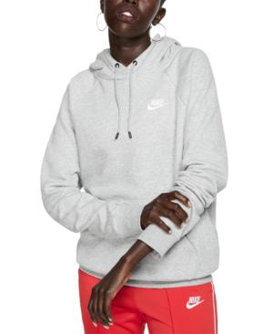 nike fleece pullover hoodie womens