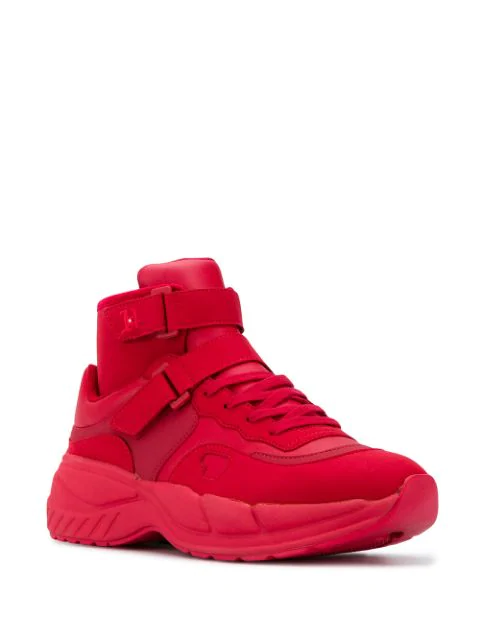 Sneaker Lewis Hamilton Varsity Chunky Mid In Xbe Red | Tommy
