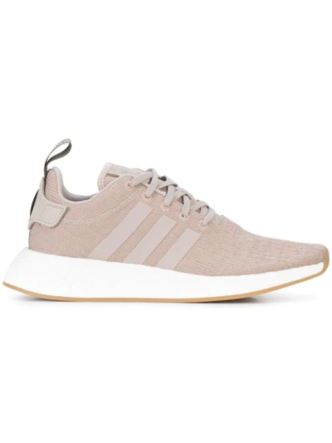 Adidas Men's Nmd R2 Casual Sneakers From Finish Line in Gray