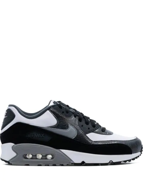 Nike Air Max 90 Retro Sneakers In 100 White Modesens