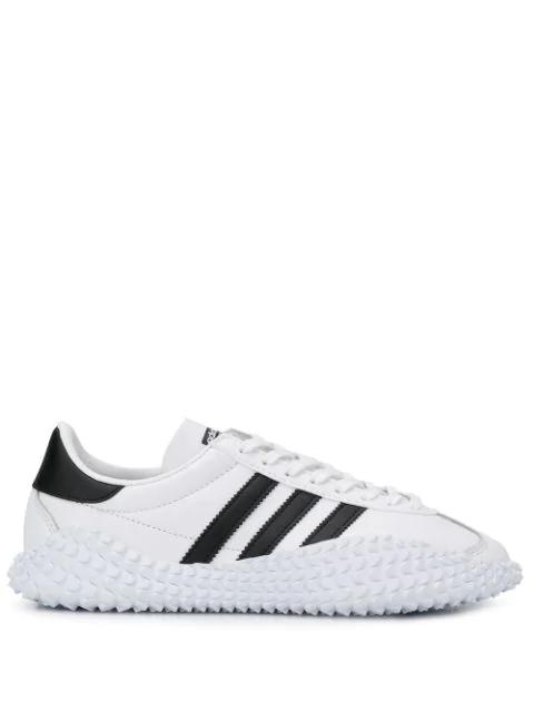 último diseño marca famosa precio al por mayor Adidas Originals Adidas Country X Kamanda Sneakers In White | ModeSens