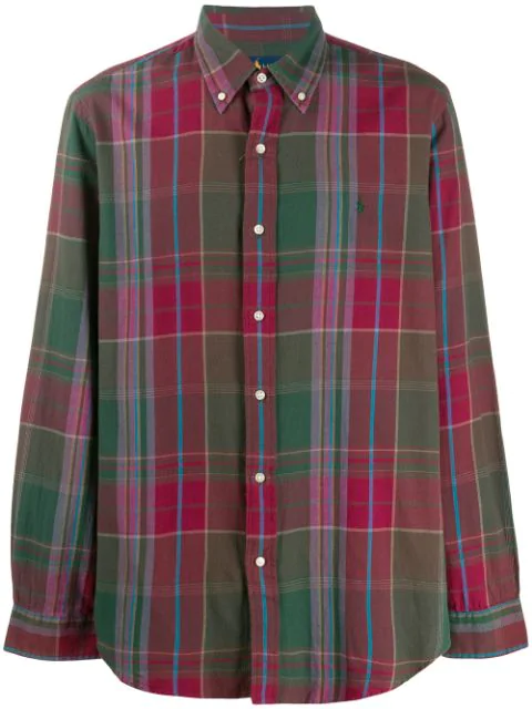 ralph lauren plaid shirt