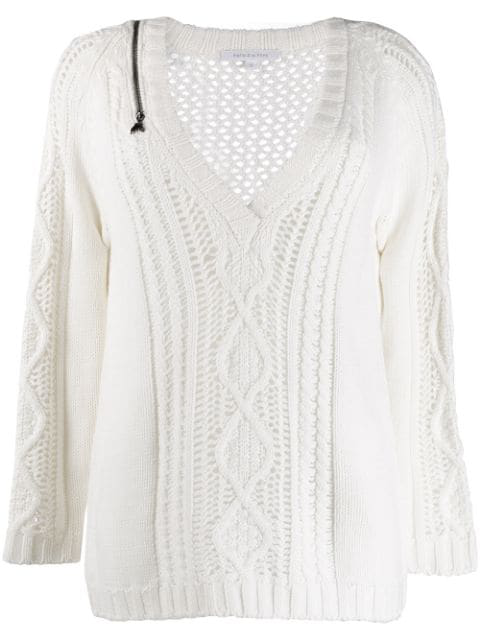 PATRIZIA PEPE Pullover WEISS Pullover