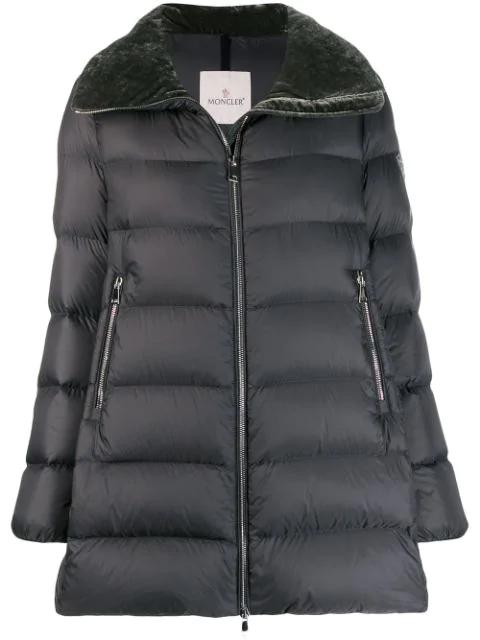 Padded Coat In 921 Grey