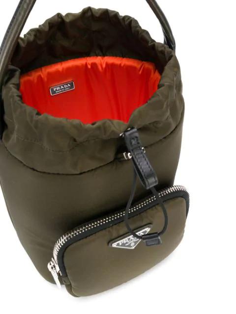 PRADA PADDED BUCKET BAG