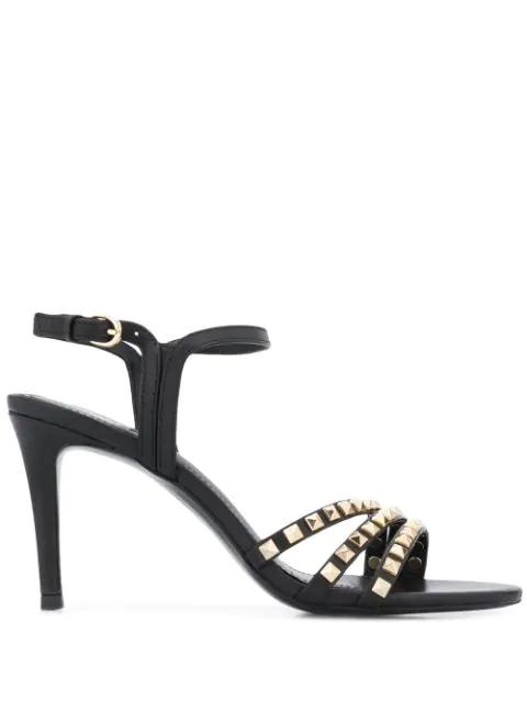 Shop Ash Footwear For Studded Black Leather Amazing Sandals