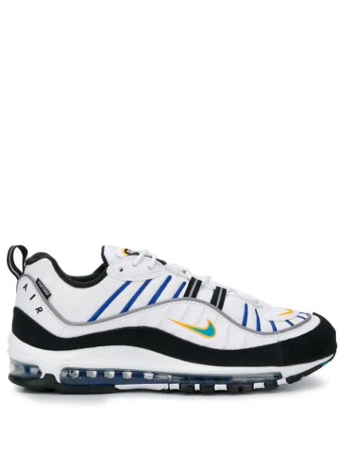 Air Max 98 Premium Sneakers In White