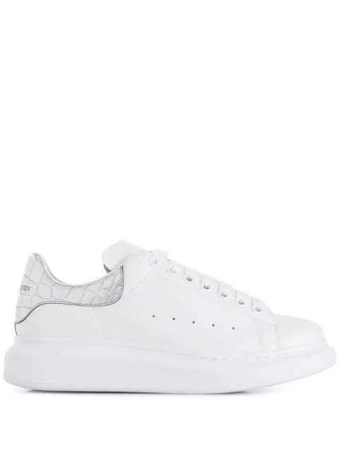 newest e6103 04525 Sneakers Mit Dicker Sohle in 9071 White/Silver