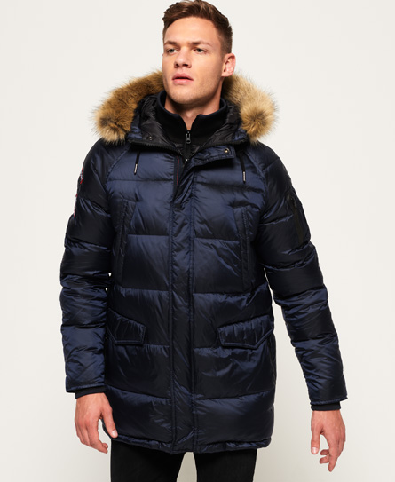 Navy Down Parka
