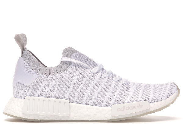 Pre Owned Adidas Originals Adidas Nmd R1 Stlt Cloud White In Cloud
