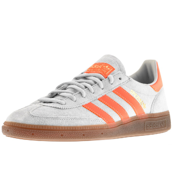 new products factory outlets online shop Handball Spezial Low-Top Suede Trainers in Grey Coral Gold