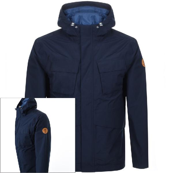 En segundo lugar valores Disminución  Timberland Mt Clay Waterproof Jacket Navy | ModeSens