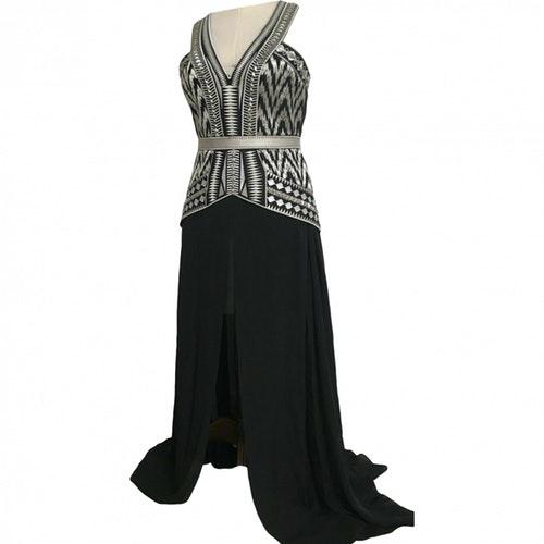 Sass Bide Black Silk Dress Modesens