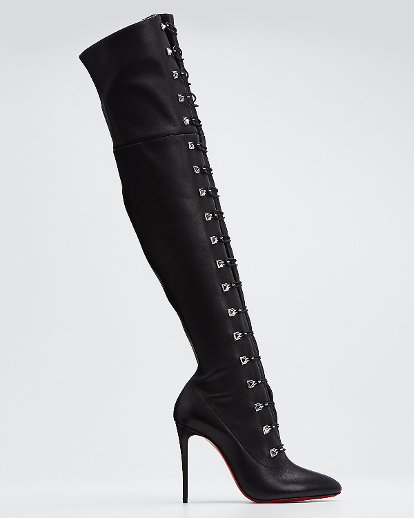 super popular online retailer wholesale So Frenchissima Tall Leather Boots In Black