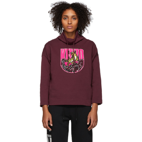 Tiger Mountain Capsule Expedition Sweatshirt In 23 Bordeaux