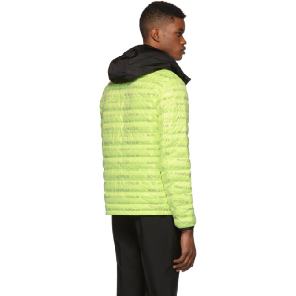 Dun Neon Green Shell Jacket In 140.yellow