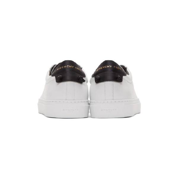 Givenchy Men S Urban Street Leather Low Top Sneakers In
