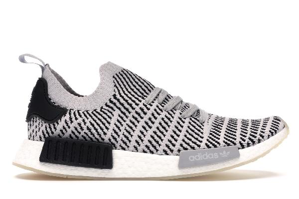 Adidas Nmd R1 Stlt Grey Black In Grey Twogrey Onecore Black
