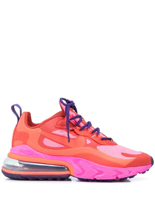 air max 270 react pink and orange