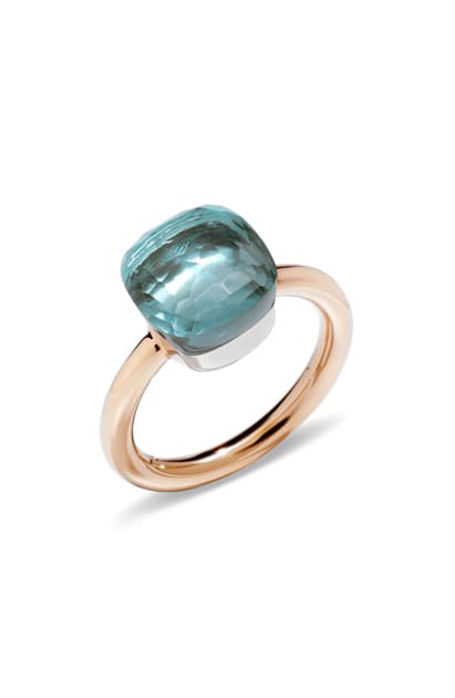 Pomellato - Nudo - Classic Stackable Ring with London Blue