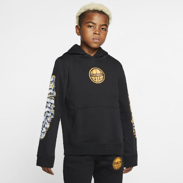 In Big Club Sportswear Black Kids'boys'Pullover Hoodie SzVqpUM