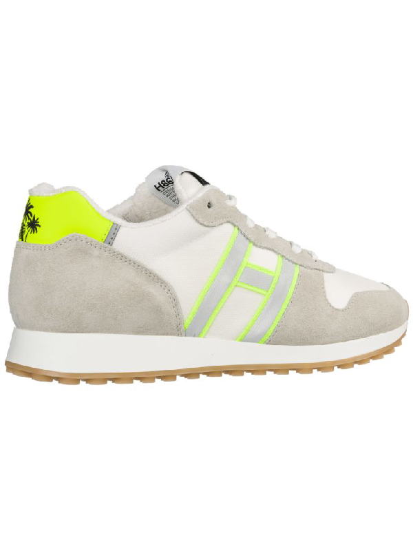 Hogan Men's Shoes Suede Trainers Sneakers H383 In Bianco,avorio ...
