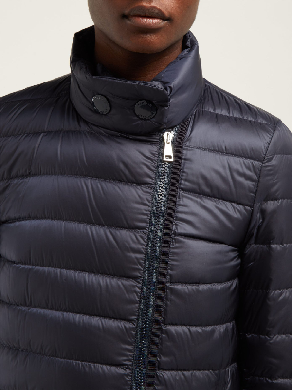 Berlin Lightweight Quilted down Coat In Navy