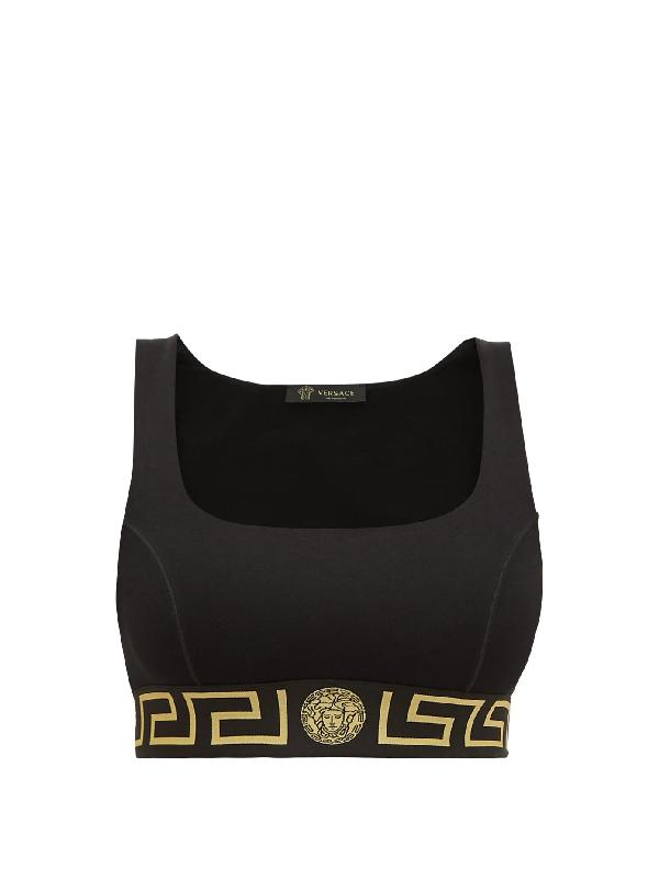 versace sports bra