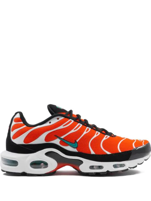 Nike Air Max Plus Sneakers In Orange Modesens