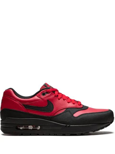 Nike Air Max 1 Ltr Premium Sneakers In Red | ModeSens