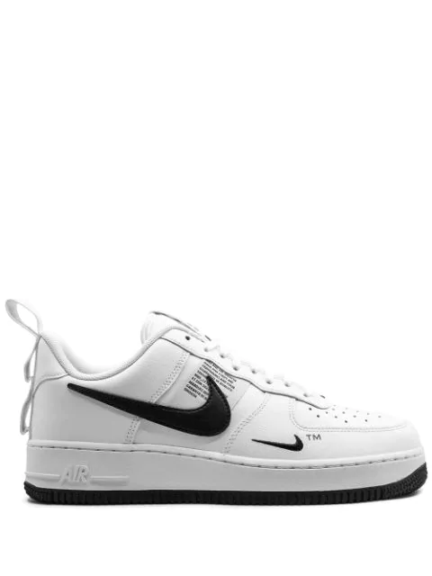 Air Force 1 Lv8 Utility Low top Sneakers In White ,black