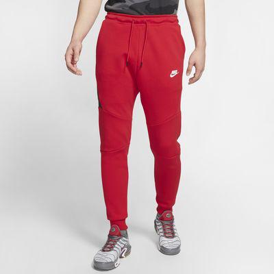 Nike Sportswear Tech Fleece Men's Joggers In Red | ModeSens